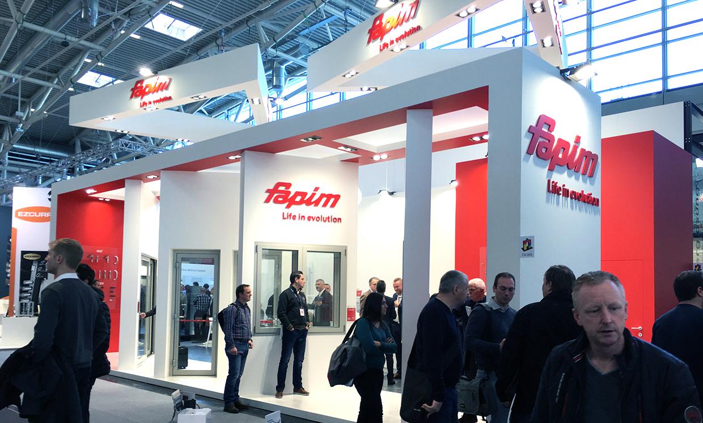 FAPIM fait sa première apparition au salon BAU à Munich
